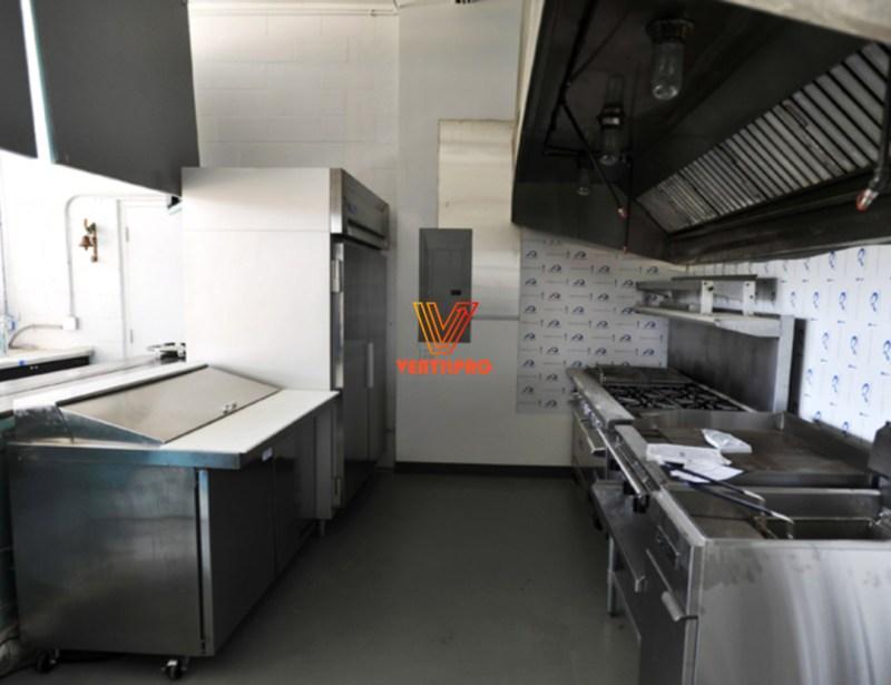 Installation de hotte professionnelle de cuisine ventilpro for Installateur cuisine professionnelle