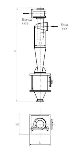 ЦН-15-750-1УП Циклон