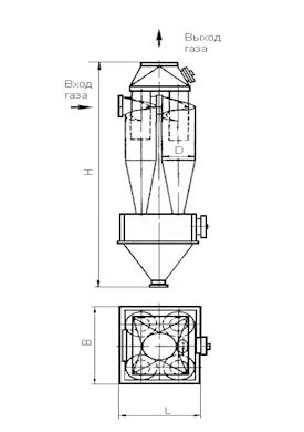 ЦН-15-450-4СП Циклон