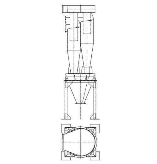 Циклон 4БЦШ-400