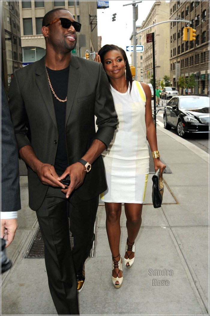 Dwyane Wade & Gabrielle Union Leave Their Hotel Together