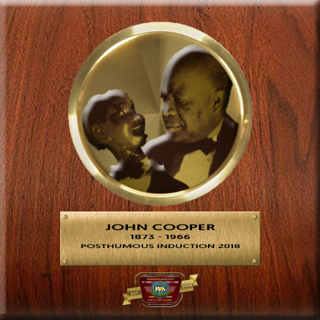 Ventriloquist John Cooper - Ventriloquist Hall Of Fame