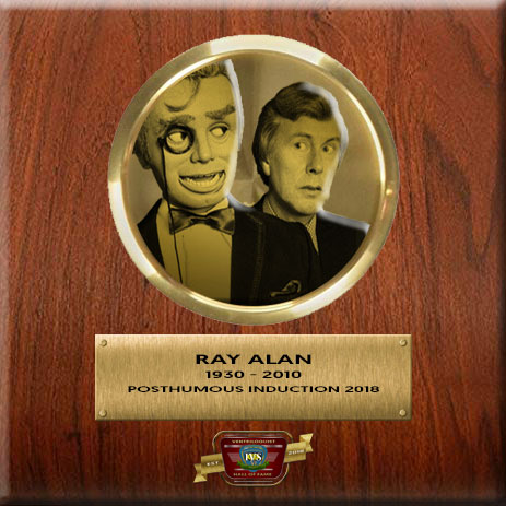 Ray Alan Ventriloquist Hall Of Fame