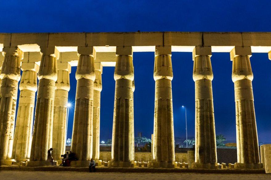 louxor colonnes