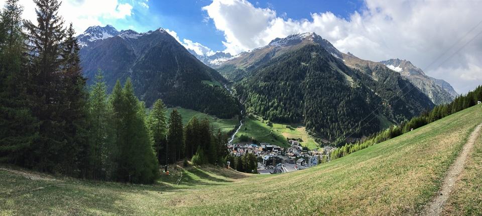 panorama ischgl randonnée