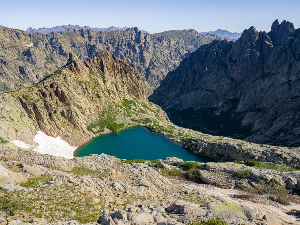 Corsican hike