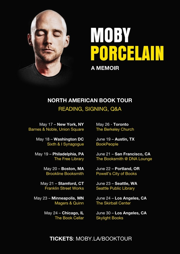 Moby tour