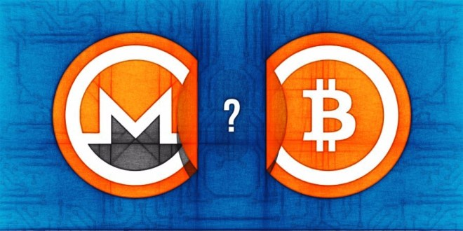 Image result for bitcoin and monero