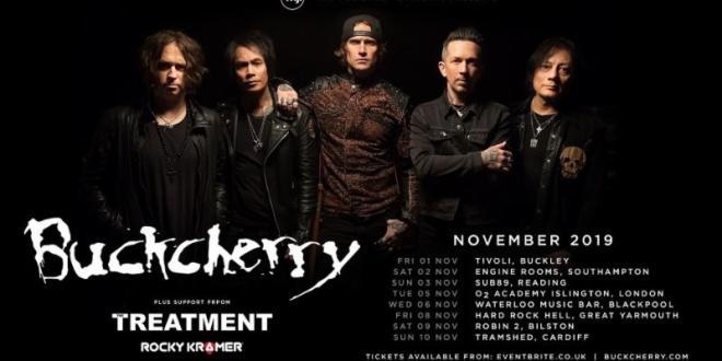 Buckcherry Announce November UK Tour