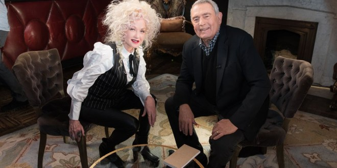 First-Look: Cyndi Lauper on Her Biggest Hit, Experience with Donald Trump & More on 'The Big Interview with Dan Rather' Tuesday, April 30