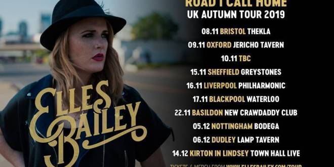 Elles Bailey extends her 'Road I Call Home' headline tour