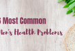6 most common men's health problems