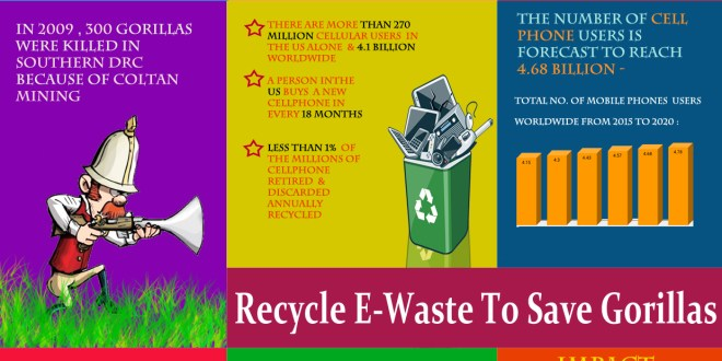 Recycle E Waste To Save Gorillas