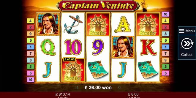 New Games to Play at Captain Venture Slots: Fresh Bonus Offers and Codes Here