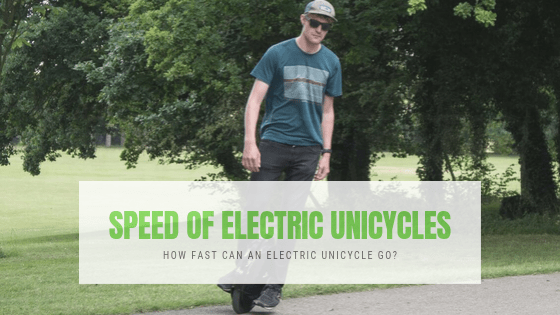 Speed of Electric Unicycles – How Fast Can an Electric Unicycle Go?
