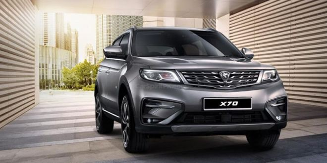Comparison of Honda brv and proton x70 ckd