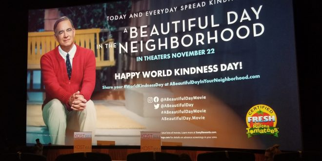 "REVIEW: ""A BEAUTIFUL DAY IN THE NEIGHBORHOOD"" (2019) SONY/TRISTAR PICTURES"