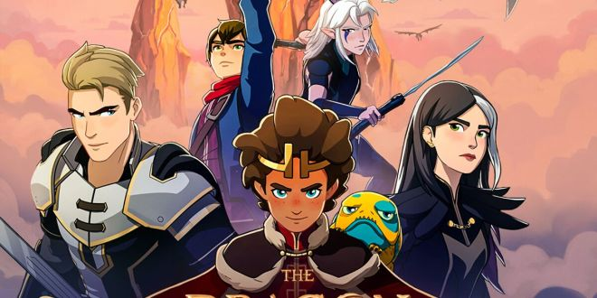 LAKESHORE RECORDS SET TO RELEASE The Dragon Prince Season 3 – A Netflix Original Series Soundtrack