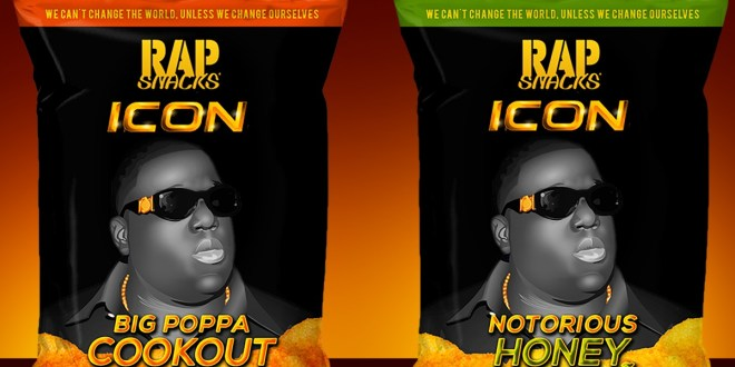 RAP SNACKS ICON HONORS ONE OF HIP HOP'S BIGGEST STARS, BIGGIE, WITH LAUNCH OF TWO NEW FLAVORS