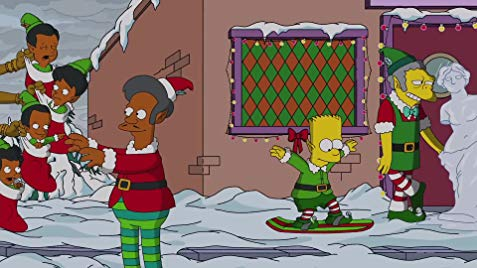 'The Simpsons' Gets Dark (And Succeeds) For A Late-Season Christmas Episode