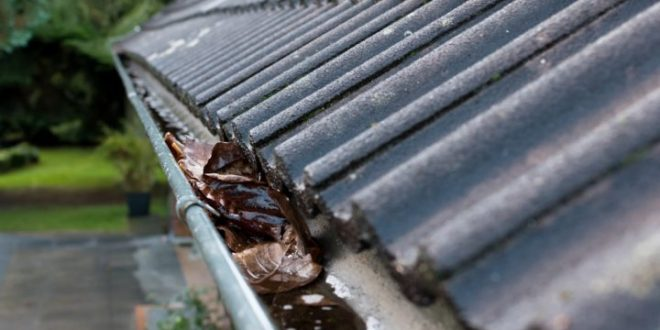 The damage that blocked guttering can cause to your home