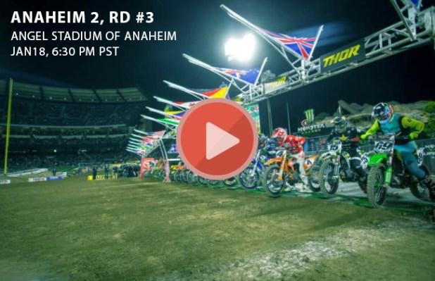 Anaheim 2 Watch Monster Energy Ama Supercross Live Stream Rd 3 Date Time Schedule Race Info