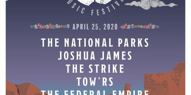 The National Parks Announce First-Ever SUPERBLOOM MUSIC FESTIVAL