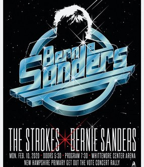 The Strokes Will Play Bernie Sanders Rally in New Hampshire on February 10