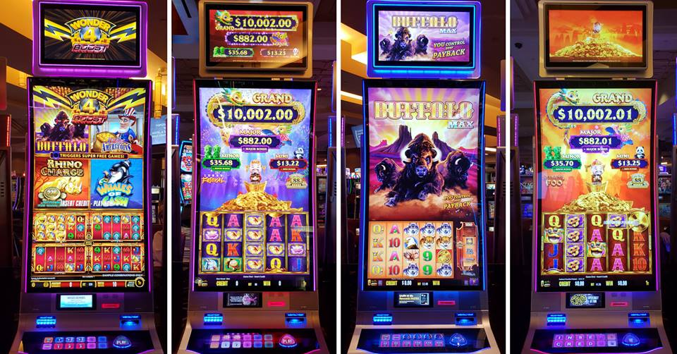 list of casino games pokies