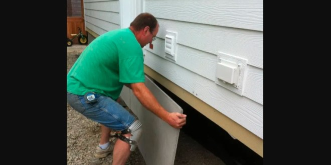 Practical guidelines to install mobile home skirting