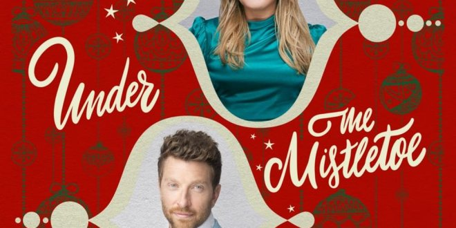 "KELLY CLARKSON & BRETT ELDREDGE DAZZLE ""UNDER THE MISTLETOE"""