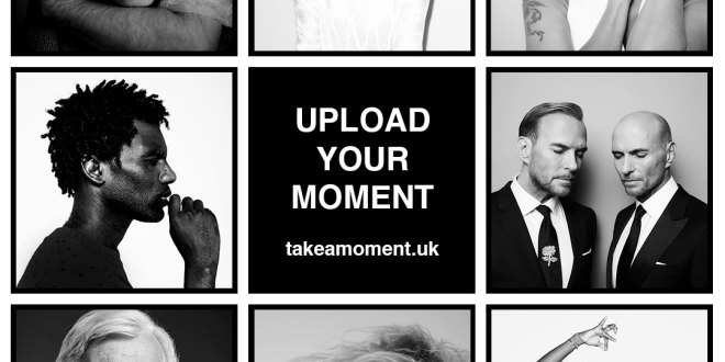 Kate Moss, Idris Elba, Ricky Gervais, Kylie Minogue all 'Take A Moment' for Mind, just launched!