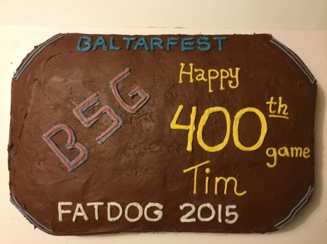 The cake for FATDOG 2016