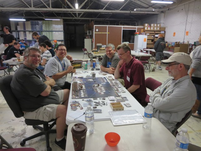Saturday night was capped with a 6 player game of Battlestar Galactica. The cylons won. No one suspected that Ken was the second cylon