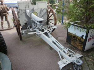 German 77mm Howitzer in Albert