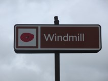 Pozières Windmill sign