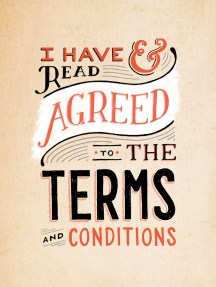 Eu li e concordei com os termos e condições