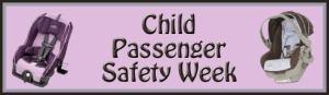 Child Passenger Safety Week – Top Ten Car Seat Safety Tips