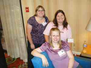 Type A Mom Conference friends