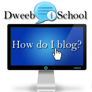 How do I blog? Series