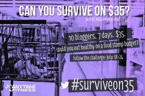 Why I am doing #SurviveOn35 – my experience with food stamps