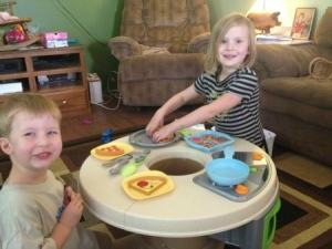 Fisher-Price Servin' Surprises Kitchen and Table Review