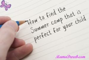 How to find a camp that is right for you
