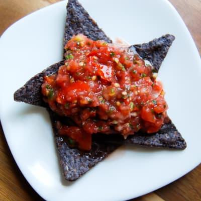 Tomato Cilantro Salsa