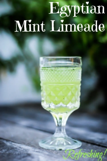 Refreshing Mint Lime made recipe