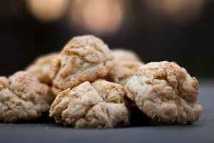 Dairy Free Biscuits from scratch – Melt in your mouth goodness!
