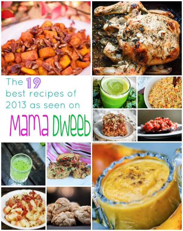 Mama Dweeb's best recipes of 2013