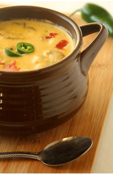 Roasted Jalepeno Soup