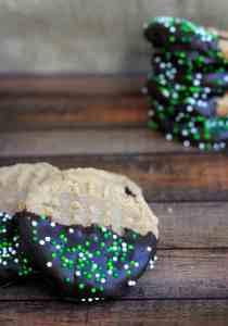 Gluten Free St. Patty's Day Peanut Butter Cookies