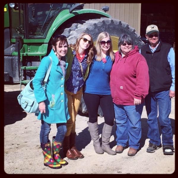 KS Farm Tour Bloggers